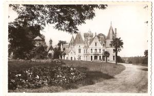 Histoire du chateau de Londigny vielle carte postale